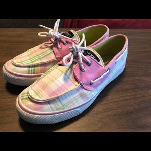 Sperry Top Sider's - Plaid - Women's Size 8.5